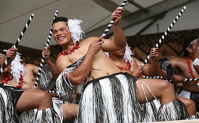Tonga group from the ASB Polyfestival, a gathering of Auckland school to perform in this culture festival. Credit@ Richard Sihamau via Flickr.com