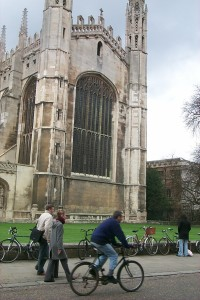 Cambridge is a wonderful place to cycle!  Credit@ Travel for  Cambridgeshire www.tfw.org.uk