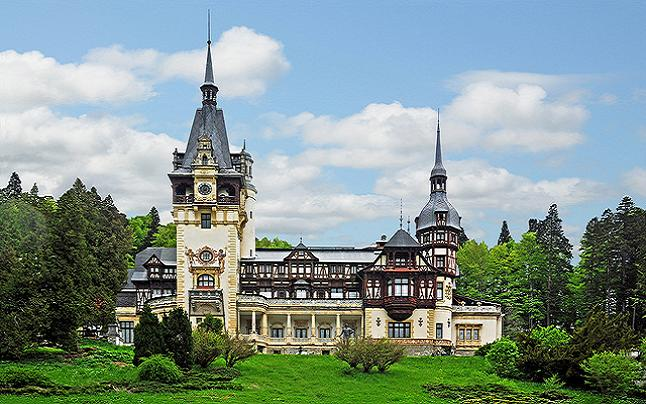 Peles Castle in Romania. Credit@ Dennis Jarvis via Flickr.com