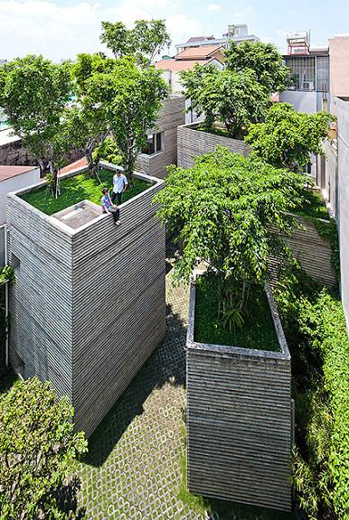 House for Trees by Vo Trong Nghia Architects.Credit@ Vo Trong Nghia Architects
