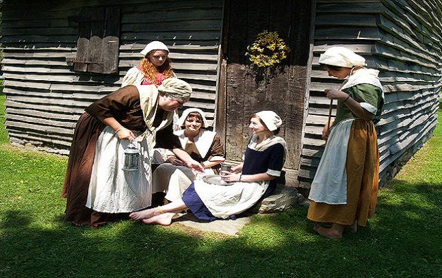 Re-enactments of the Salem Witch Trials and following media adaptations are common. Credit@ Len Radin via Flickr.com