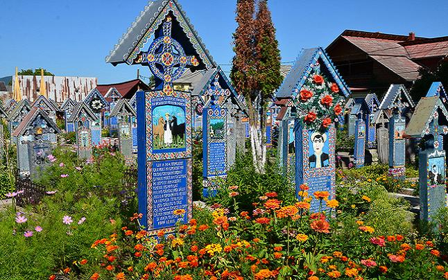 The Merry Cemetery of Sapanta Village. Credit@ Richard Mortel via Flickr.com
