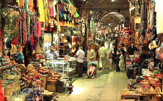 Grand bazaar shop. Credit@wiki.com