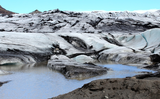 Icelandic Glacier. Photo Credit: Alice Blezard