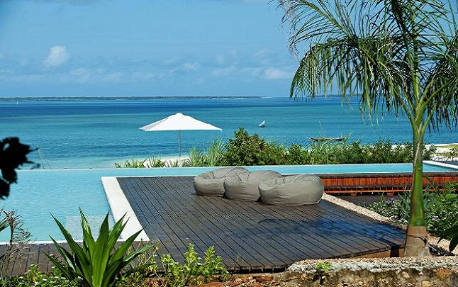 The Zanzibar landscape contributes to the beauty of Kilindi Spa, Tanzania. Credit@ elewanacollection.com