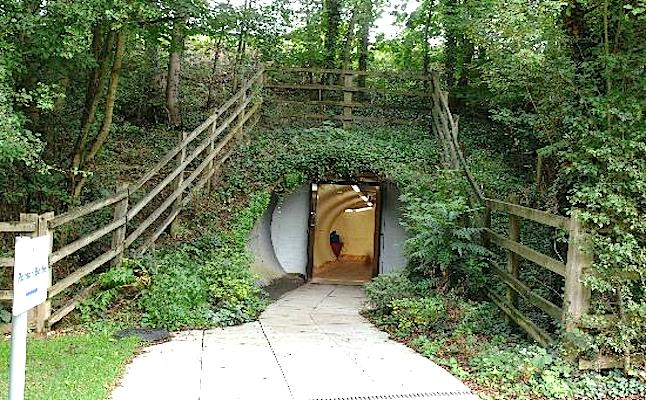 We had to go down a little tunnel to get to them. Credit@tripadvisor