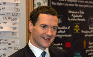 George Osborne at a function Credit@Gareth Miller via Flickr