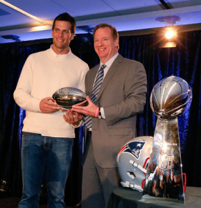 MVP Tom Brady. credit@Patriots via Twitter.