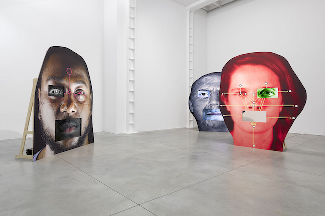 Tony Oursler's current exhibition at London's Lisson Gallery. Credit@sambev375 via flickr.co.uk
