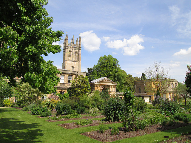 The University of Oxford Botanic Garden  J. R. R. Tolkien, often spent his time there Credit@ebrowningviaflickr