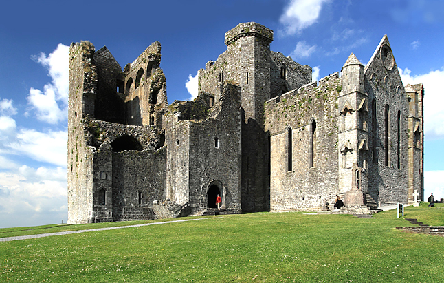 The Rock of Cashel located County Tipperary RockofCashel,TipperaryCredit@wikipedia