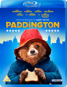 Paddington Bear is now on DVD
