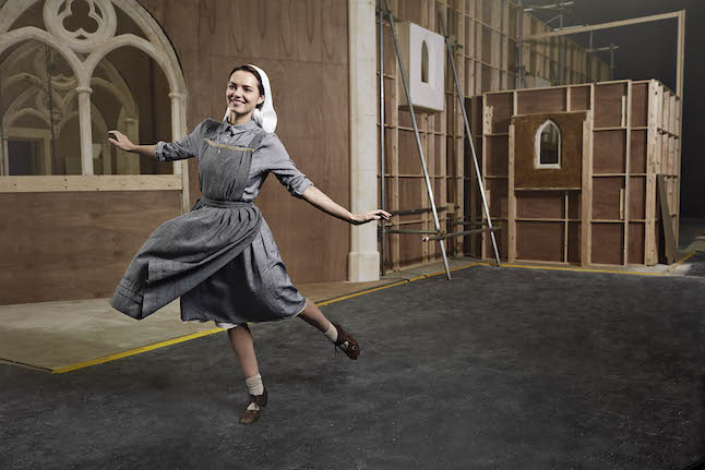 The Sound of Music Live on ITV, Kara Tointon as Maria Rainer.Credit@ITV