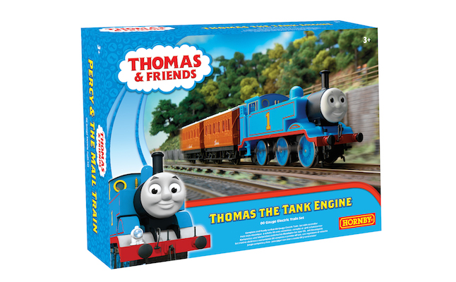 Thomas Train Set 3D Box