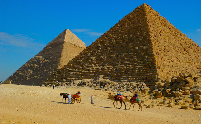 Pyramids of Giza.Credit@jaybergesen.flickr.com