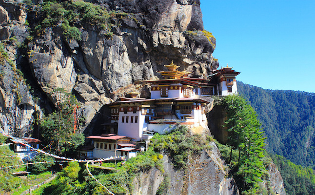 Temple in Bhutan.Credit@arianzwegers.flickr.com