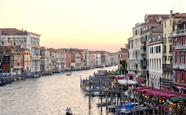 One of many canals in Venice.Credit@JohnFowler.flickr.com