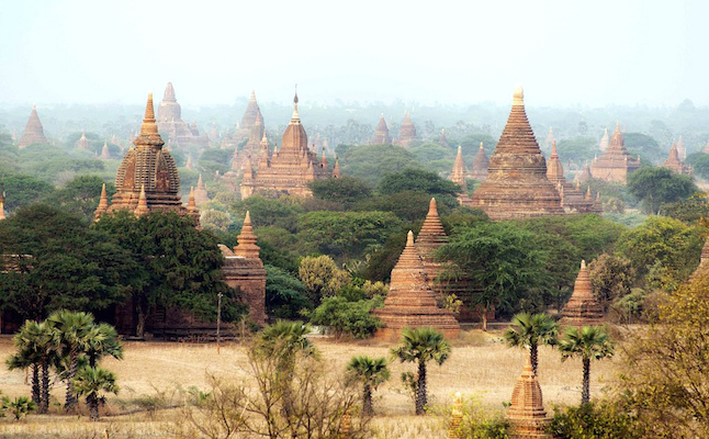 Pagodas in Bagan.Credit@Christopher.Michel.flickr.com