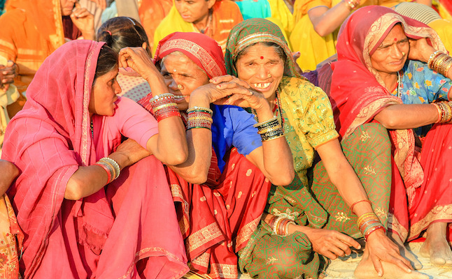 Women at the Kumbh Mela.Credit@AlGraChe.flickr.com