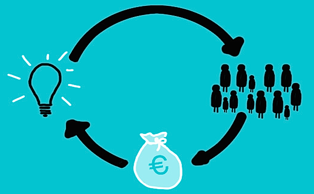 How crowdfunding works.Credit@Rocalauraviaflicker.com
