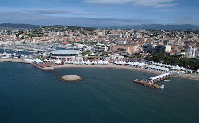 The coast of Cannes.Credit@Fest300.com