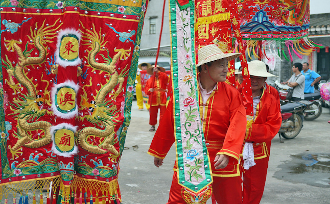 Parades during Duanwa Festival.Credit@Jonathan.E.Shaw.flickr.com