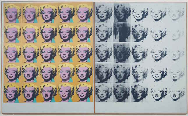 Andy Warhol at Tate Modern.Credit@tatemodern.org.uk