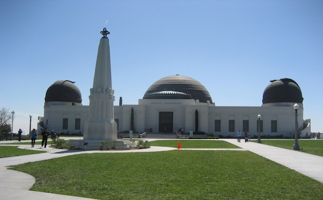 Griffith Observatory CREDIT@Aaron Stroot viaFLICKR