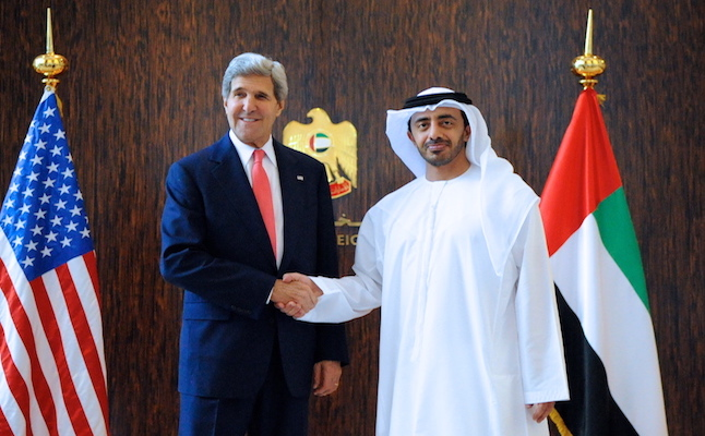 US Secretary Kerry in UAE. Credit@en.m.wikipedia.org