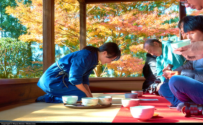 Tea Ceremony Japan. Credit@flickr.com