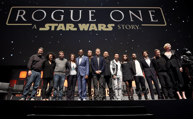 Star Wars: Rogue One cast. Credit@WaltDisney.Lucasfilms