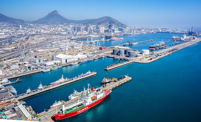 Port of Cape Town. Credit@commons.wikimedia.org