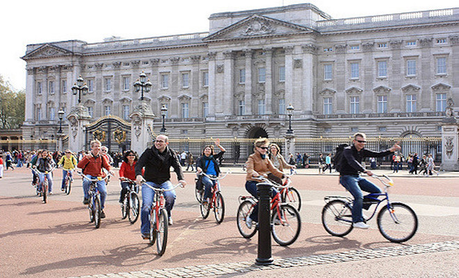 Bike tours in London. Credit@flickr.com