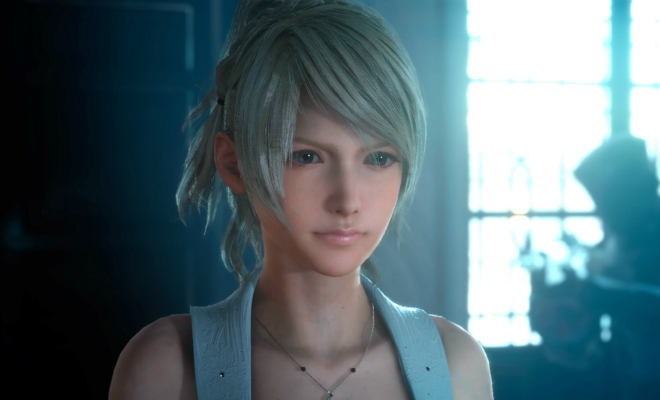 Luna, one of the characters in Final Fantasy XV. Credit@SquareEnix