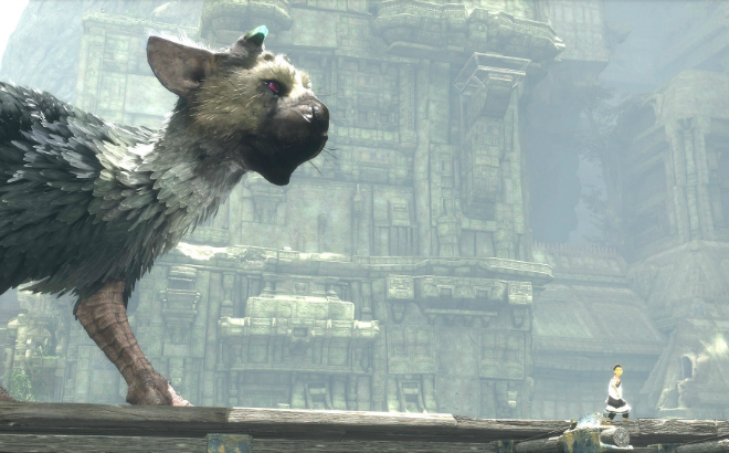Trico sensing something in the distance Credit@SonyInteractiveEntertainment
