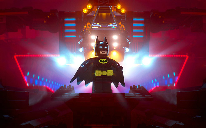 The Lego Batman Movie stars Will Arnet as the caped crusader. Credit@ The LEGO Group. ™ & © DC Comics. © 2016 Warner Bros. Ent. All Rights Reserved.