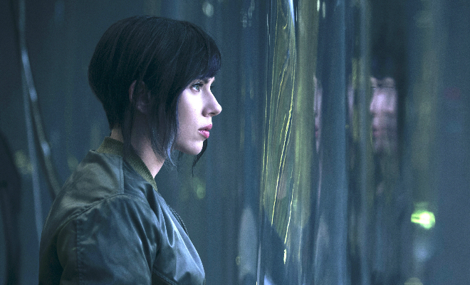 The 2017 Ghost in the Shell film aims to adapt Masamune Shirow's 1989 Japanese Manga. Credit@2017 PARAMOUNT PICTURES. ALL RIGHTS RESERVED.