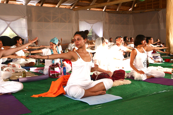 Breathing may be an important function in kundalini yoga. Credit@festivalkundaliniyoga